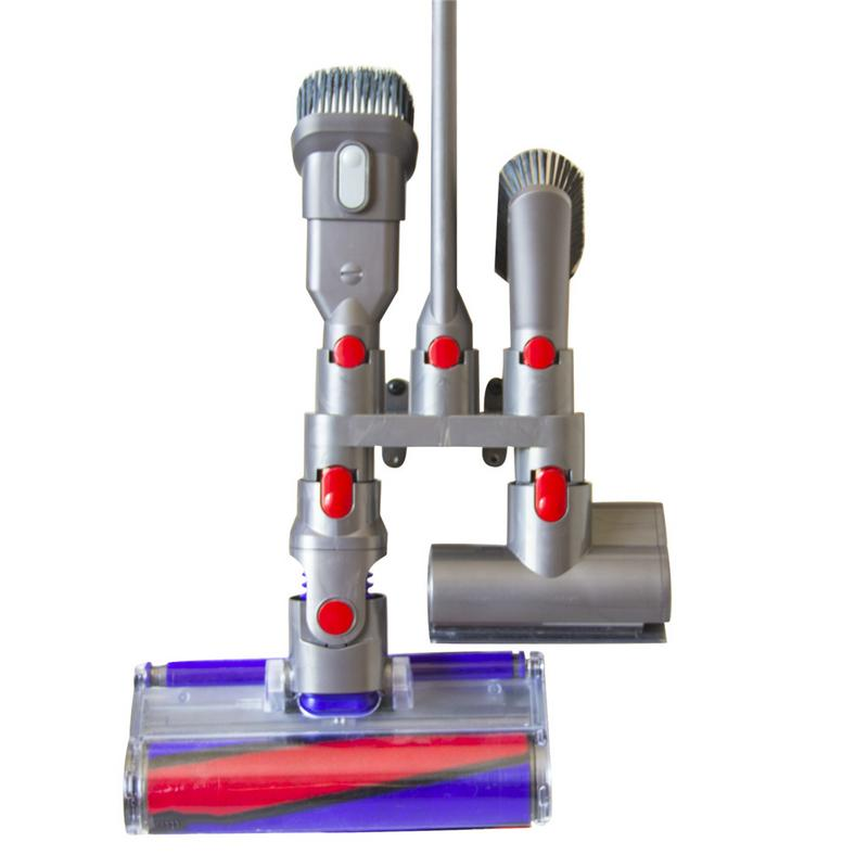 <font><b>Storage</b></font> <font><b>Brackets</b></font> <font><b>for</b></font> <font><b>Dyson</b></font> <font><b>V7</b></font> <font><b>V8</b></font> <font><b>V10</b></font> <font><b>Vacuum</b></font> <font><b>Cleaner</b></font> Parts Absolute Brush Stand Tool Nozzle Base Holder Docks Station Accessories image