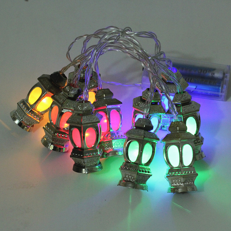 Ramadan Decorations Lantern Lights Christmas Outdoor Led String Fairy Light For Home Holiday Garden X