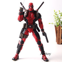 Neca marvel deadpool figura de ação super poseable ultimate collector 1/10 escala pvc coleção modelo brinquedos(China)