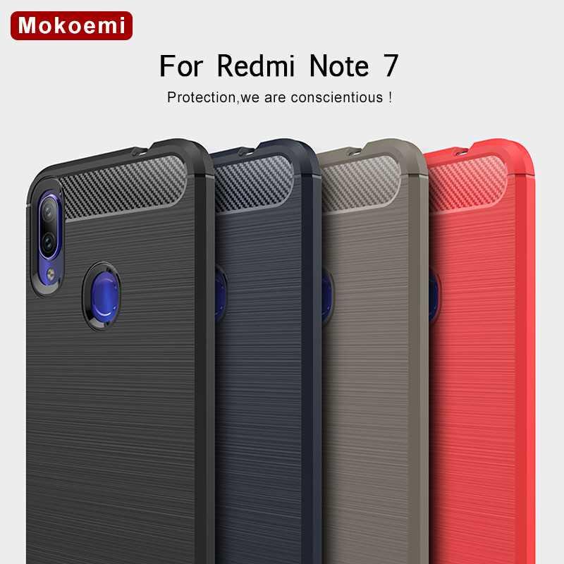 Mokoemi Fashion Shock Proof Soft Silicone 6 3 For Xiaomi Redmi Note 7 Case For Redmi
