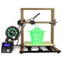 Creality3D CR 10S4 увеличенные 400x400x400 мм 3D DIY настольным принтером комплект поддерживает SD карты от line печати высокой точности
