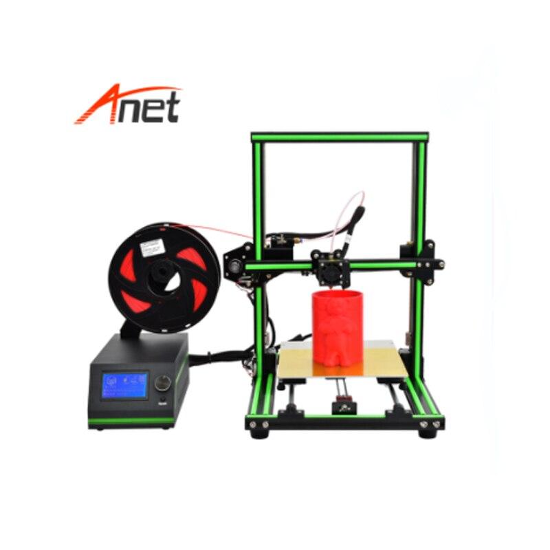 Célèbre usine vendre directement Anet E101 4 étapes facile à assembler imprimante 3d en métal cadre en aluminium imprimante 3D avec un meilleur prix bas