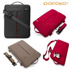 POFOKO Big Capacity Laptop Handbag Shoulder Bag Protective Case Cover For Macbook Pro Retina Air Touch Bar 11 12 13 15 17inch