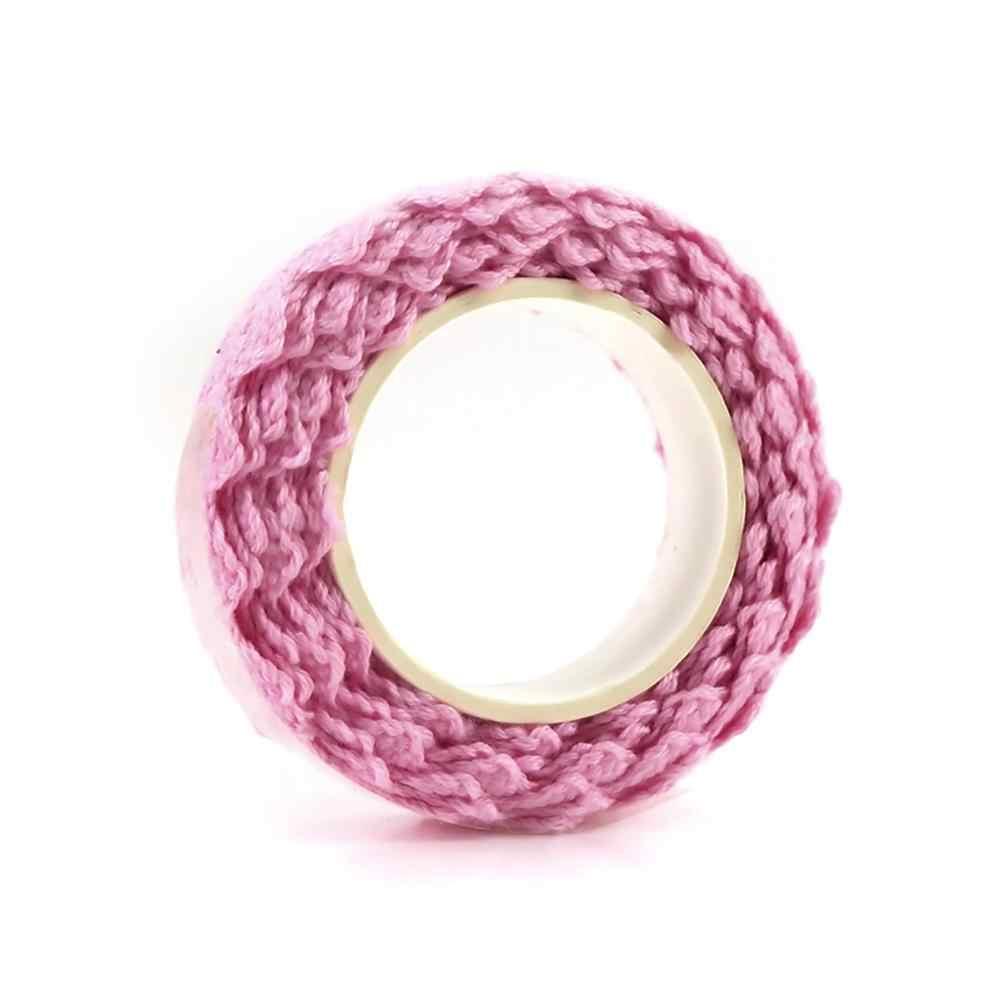 Клейкие ленты, ткань, хлопок, кружевная лента для украшения своими руками, Канцелярские Клейкие Ленты, подарочные тканевые ремесленные супер милые прочные