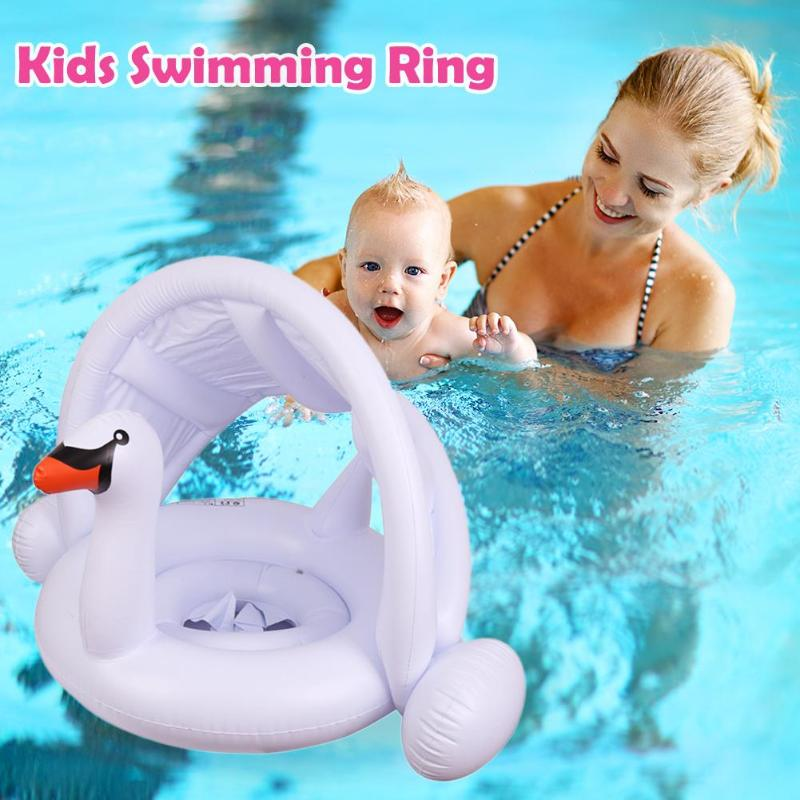 Swimming Ring Baby Inflatable Pool Float Cartoon Seat Ring Kids Pool Toys