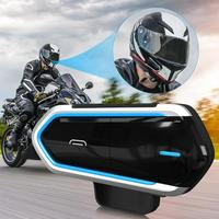Bluetooth Headsets Motorcycle Helmet Wireless Riding Handsfree FM Radio Stereo MP3 Motobike Earphone Easy Operation Long Stand