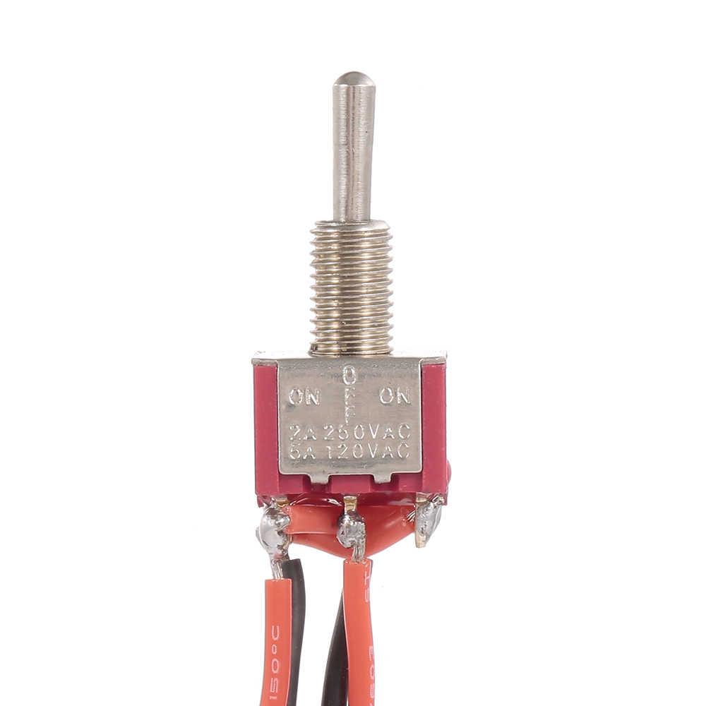 Резьбовые металла переключатель шасси установлен провода для лебедки для 1/10 восхождение автомобилей TRAXXAS SCX10 REDCAT осевой автомобиль на радиоуправлении грузовик