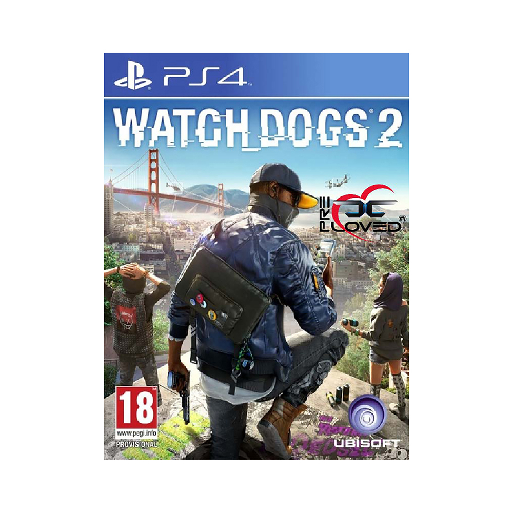 Game Deals play station Watch_Dogs 2 PS4 2 4g wireless game gamepad joystick for ps2 controller sony playstation 2 console dualshock gaming joypad for ps 2 play station