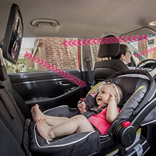 Espejo retrovisor para ver al bebé – modelo básico