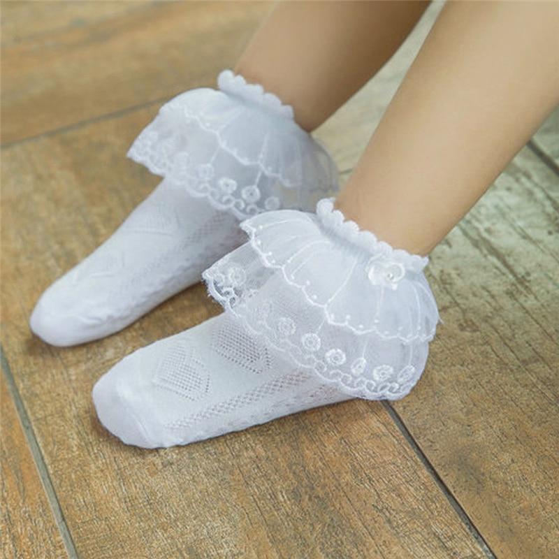 Kids Lovely Baby Girls Lace Ruffle Socks Frilly Ankle Socks Princess Short Tutu Cotton SocksKids Lovely Baby Girls Lace Ruffle Socks Frilly Ankle Socks Princess Short Tutu Cotton Socks