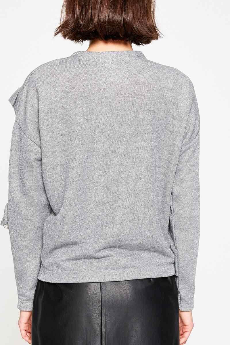 Koton Women Gray Sweater 8KAF10280GK