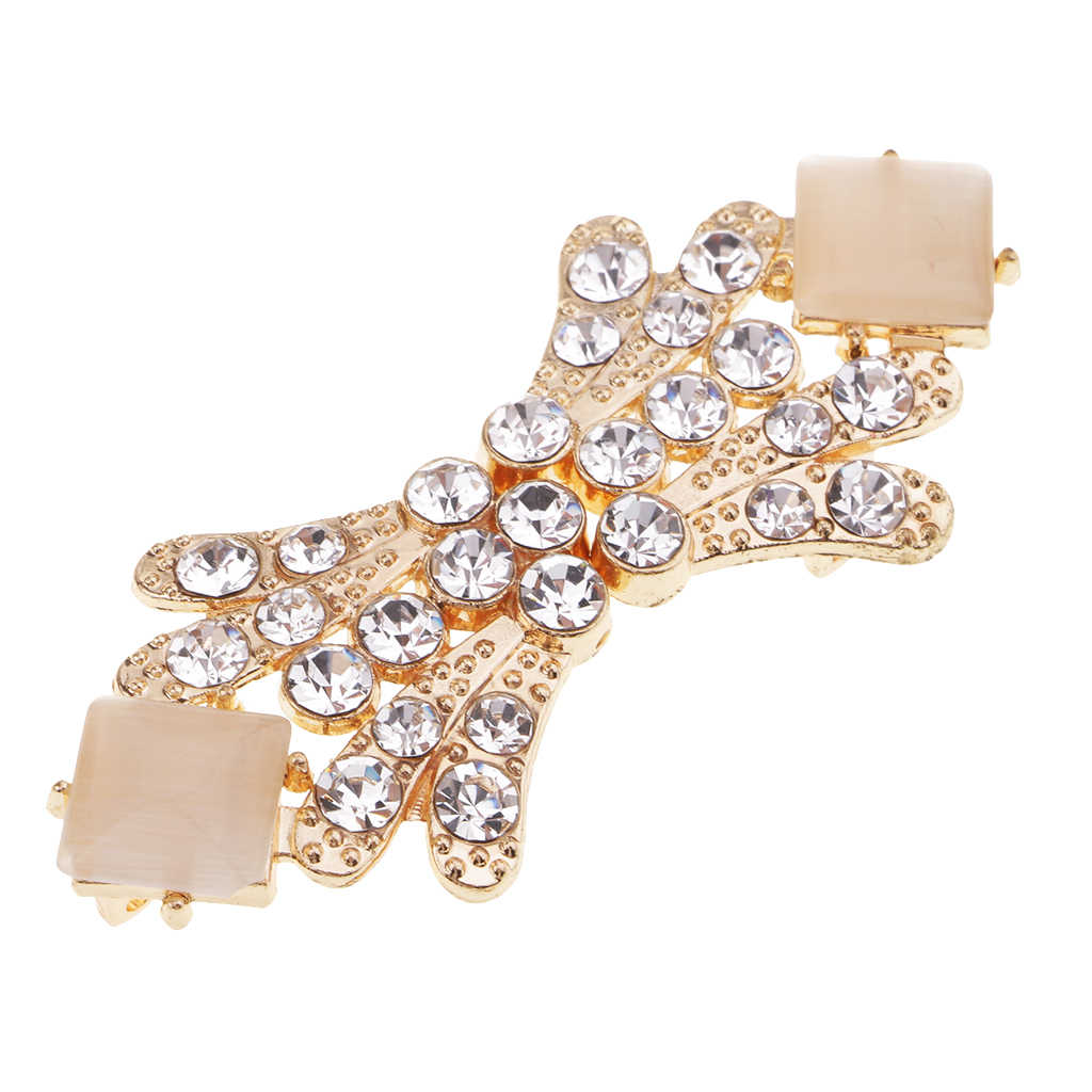 6557ce5e90 Vintage Style Crystal Rhinestone Wedding Closure Hook Eye & Clasp Sew On  Buttons