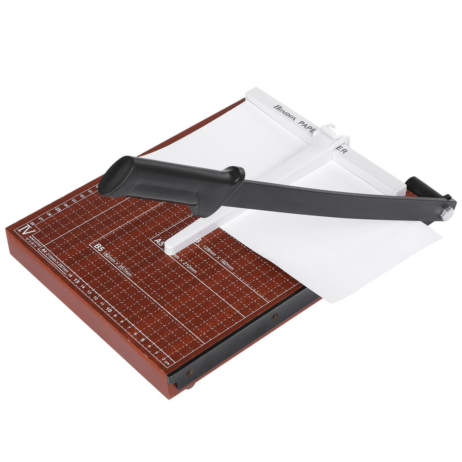 New HOMDOX Wood Professional Office Home A4 Paper Desk Tops Paper Cutter Trimmer Home, Scrap Book MachineNew HOMDOX Wood Professional Office Home A4 Paper Desk Tops Paper Cutter Trimmer Home, Scrap Book Machine