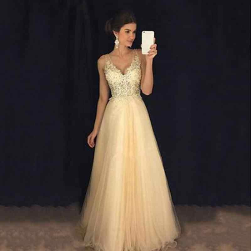 New Women Lace Dress Ladies Muslim Gold Sequins Sleeveless Dress Tulle Lace  Princess Long Dress Gown 1bb8248c31c0
