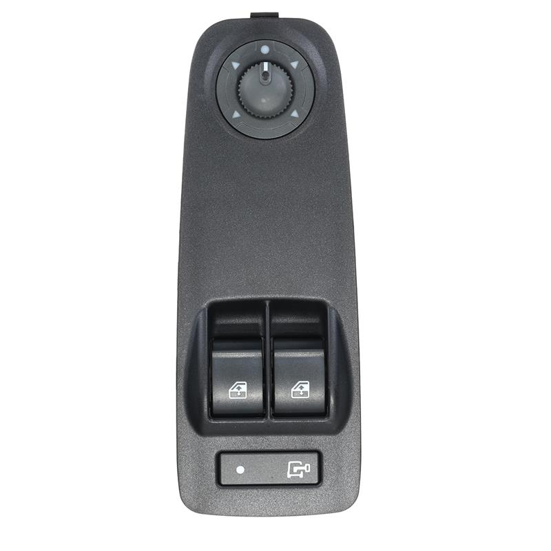 735487423 735487419 6490X9 Car Power Window Switch Black For Citroen/Peugeot/Fiat/Vauxhall Relay Boxer Doblo Ducato Combo MK3