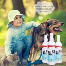 Pet Dog Cat Anti-worms Delousing Safe Spray Natural Plant Extracts The Insecticidal Components Body Cleaning Care Supplies