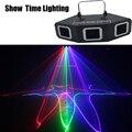 Hot sales 3 Lens Rood Groen Blauw RGB Scanner Laserlicht sector & Bar Laser DJ Party Show Club Vakantie thuis Bar Podium Verlichting