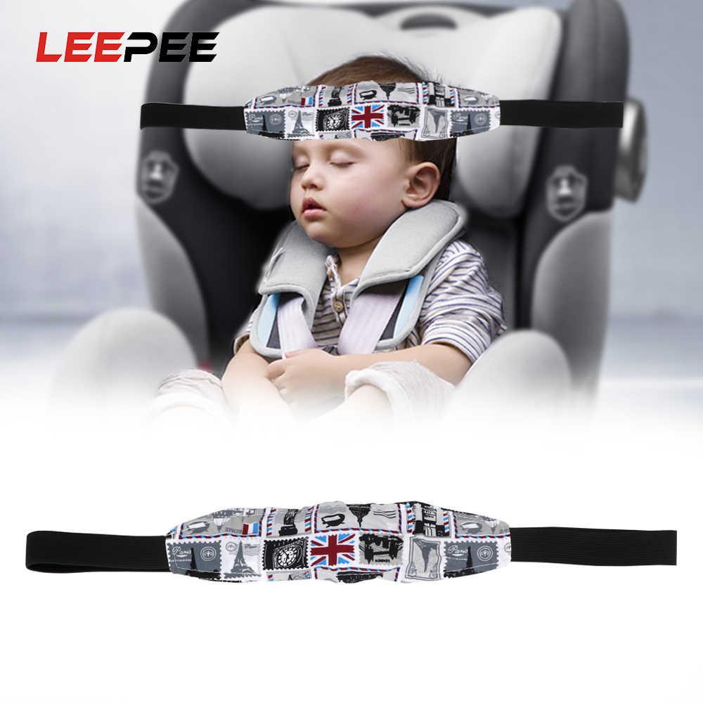 LEEPEE 1 kawałek dziecko wózek fotelik uchwyt paska dzieci uśpienia szef uchwyt podporowy bezpieczeństwo dzieci samochodów Seat szef mocowania pomocnicze