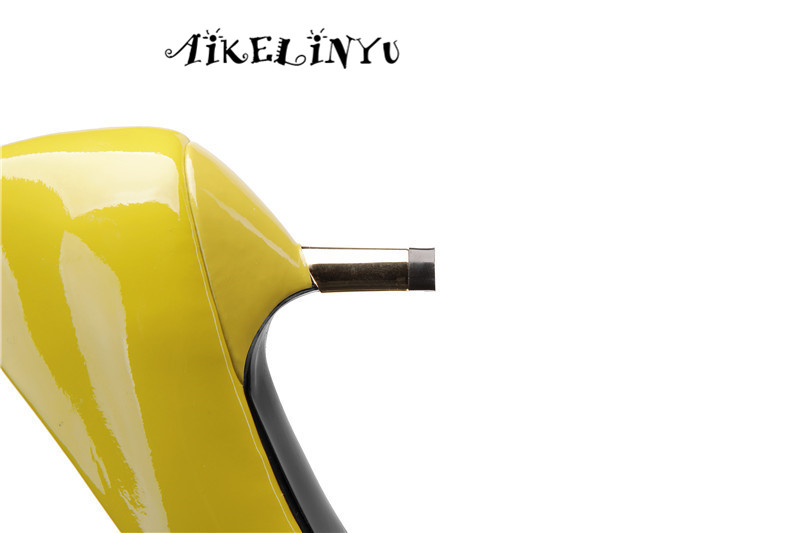 AIKELINYU Women Pumps Fashion Pointed Toe Genuine Leather Stiletto High Heels Shoes Spring Summer Office Shoes Woman Party Pumps in Women 39 s Pumps from Shoes