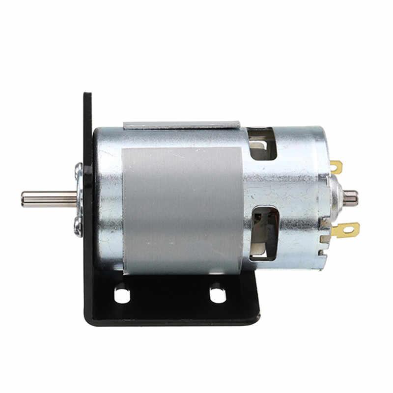 1Pcs 775 Motor Bracket Dukungan Motor Tempat Tetap L Berbentuk Motor Mounting Bracket Elektroplating Tetap Pemasangan Dasar Dukungan Kursi
