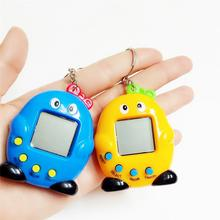 Интеллектуальная развивающая электронная игровая машина виртуальное животное пингвин в форме видео игровая консоль для детей случайных цветов
