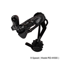 S Ride RD M300 Mountian Bike 9 Speeds Rear Derailleur Long Cage Cycling MTB Bicycle Gear Rear Chain Shifter Compatible SHIMANO