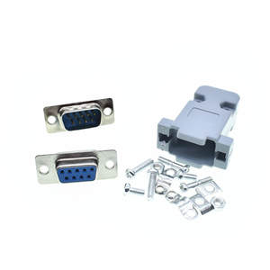 Connectors RS232 Db9 Female 9pin Socket-Adapter Plastic Serial-Port COM