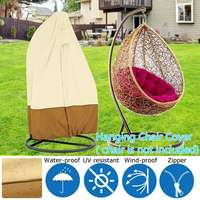 Modern Hanging Swing Chair Protector Dust Proof Cover Veranda Cacolet Waterpoof Shade Oxford Covers Bosun Chair Maintenance