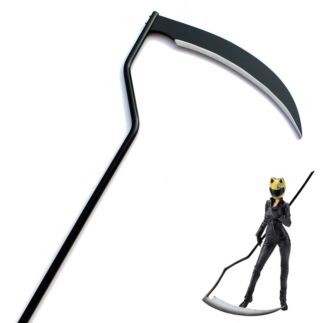 New FFF Group Reaper Death Scythe Sickle Horror Halloween Cosplay Prop