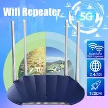 1200M Gigabit Dualband 2.4GHz/5GHz High-Power Wireless WIFI Router High Speed