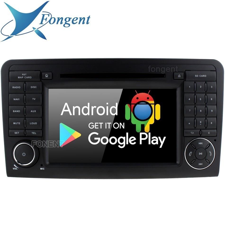 Android 9.0 DVD Player Para Mercedes Benz ML300 ML320 ML350 ML430 ML450 ML500 ML550 ML55 ML63 AMG Car Radio GPS 4 + 64 Gb 8 Core RDS