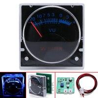 6 12V VU متر التناظرية لوحة الصوت مستوى متر الأزرق الخلفية SMT التكنولوجيا عملية لا حاجة سائق ل 10 80W مكبر كهربائي مقاييس التيار    -