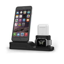 3 in 1 Silicone Charging Dock Holder For iphone AirPods Apple Pencil Wireless Station Watch