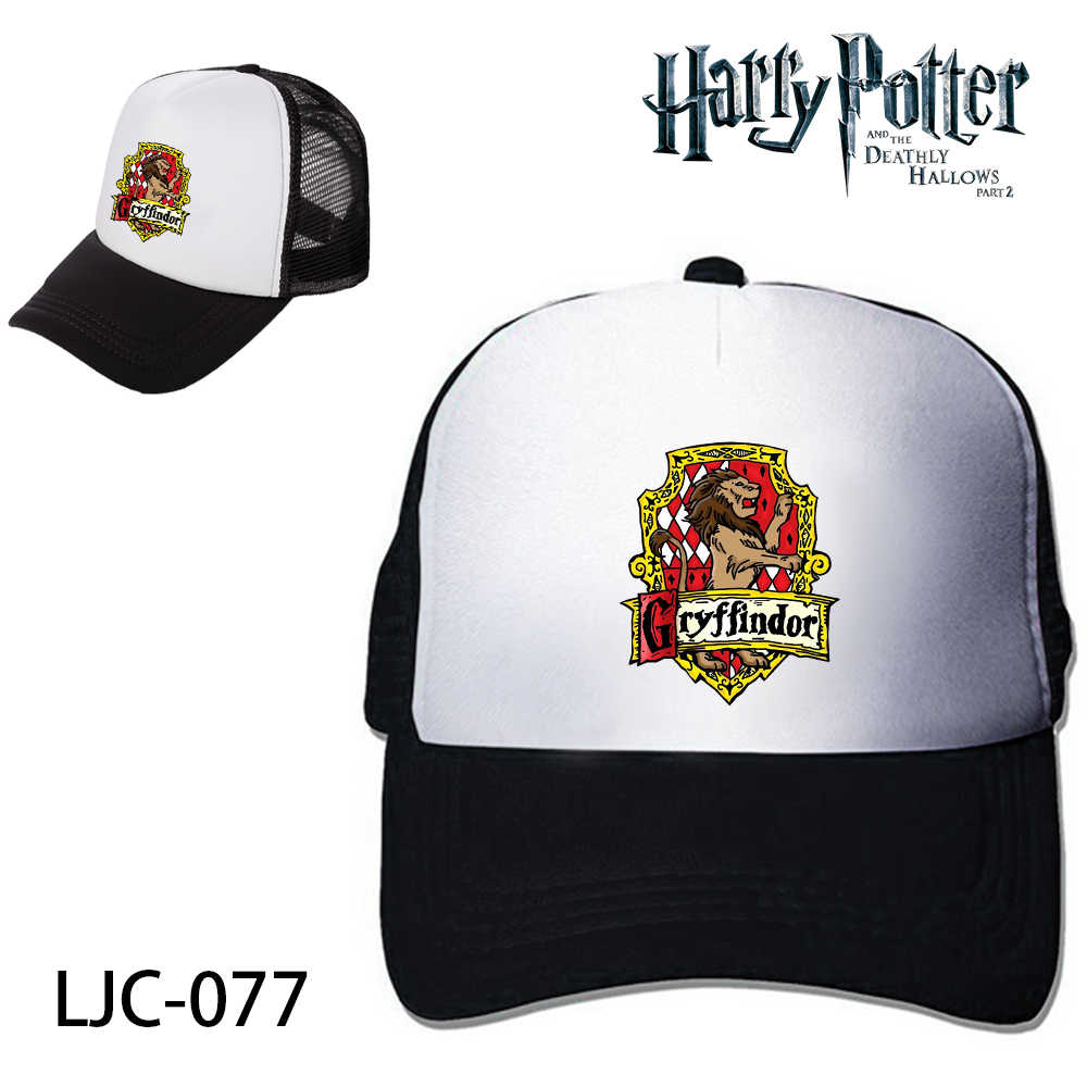 68ee6fdccc6 ... Hufflepuff Mesh Trucker Cap Baseball Cap Hat Cosplay Costume. RELATED  PRODUCTS. Harri Potter Deathly Hallows Hogwarts School Platform 9-3 4 Black  ...