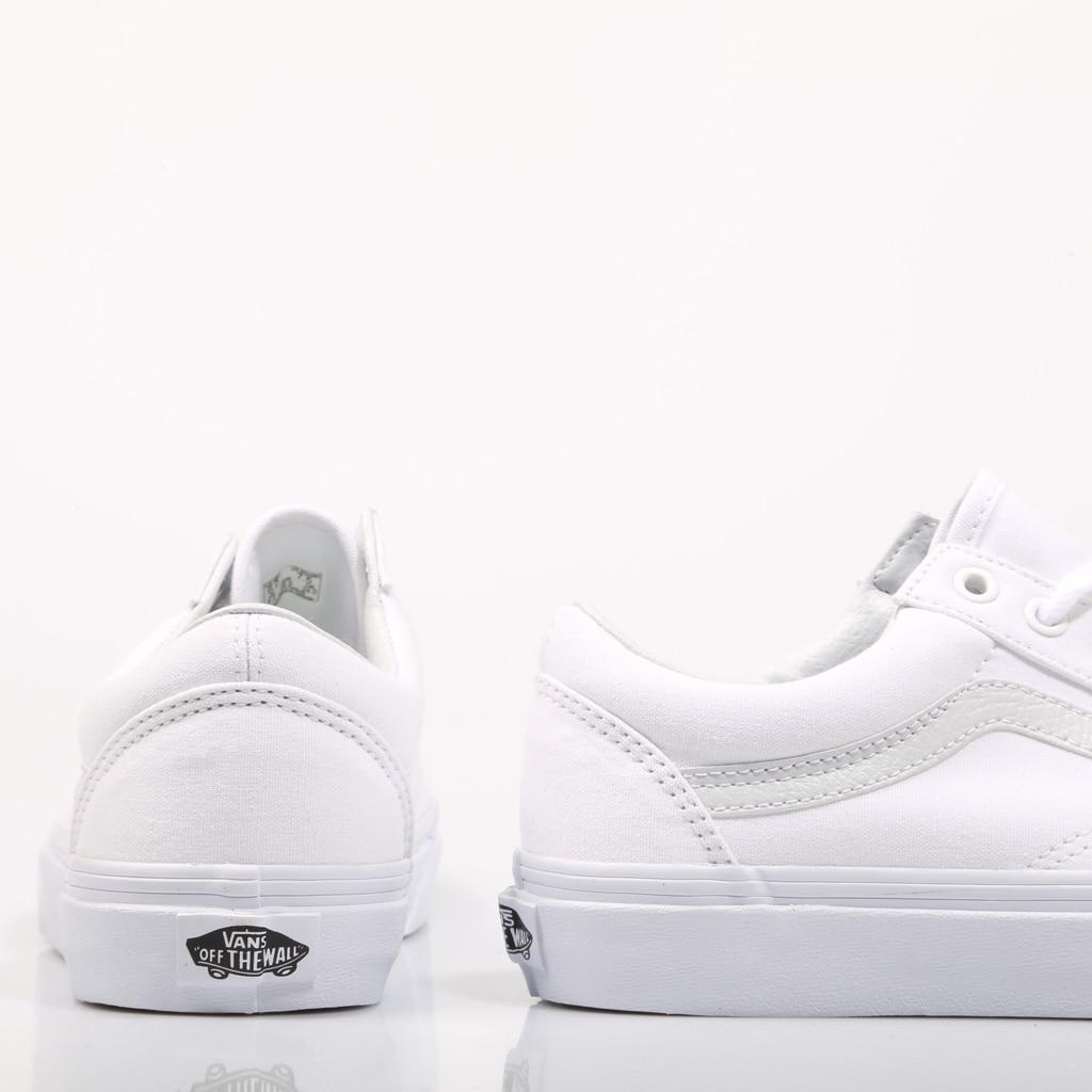 zapatillas mujer blancas lona vans