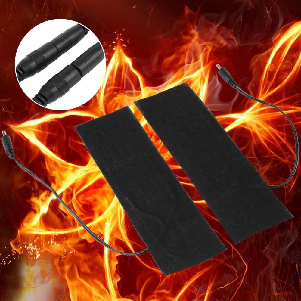 Suszarka do butów elektryczny Element grzejny filmu płyta grzejna uniwersalne ogrzewanie Pad Seat pokrywa Boot USB osuszania suszarki do butów 6*20 CM