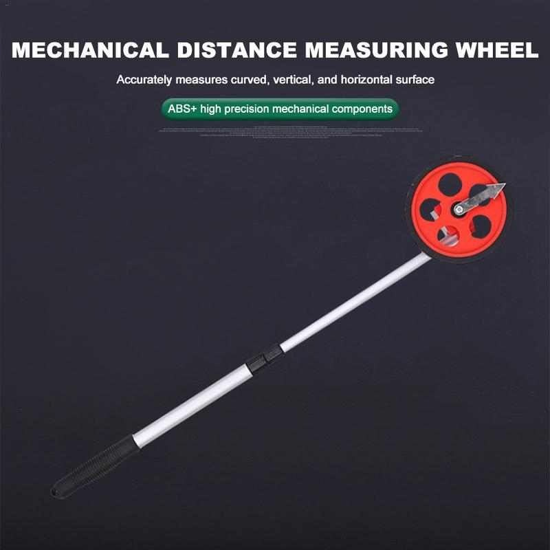 Hand-Held Mechanical Distance Measuring Wheel Digital Display Measuring Wheel Range FinderHand-Held Mechanical Distance Measuring Wheel Digital Display Measuring Wheel Range Finder