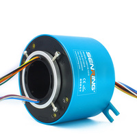 50mm Through Bore Slip Ring OD119mm High Current Maintenance Free And Stable Operation In Robotics And Medical Equipment