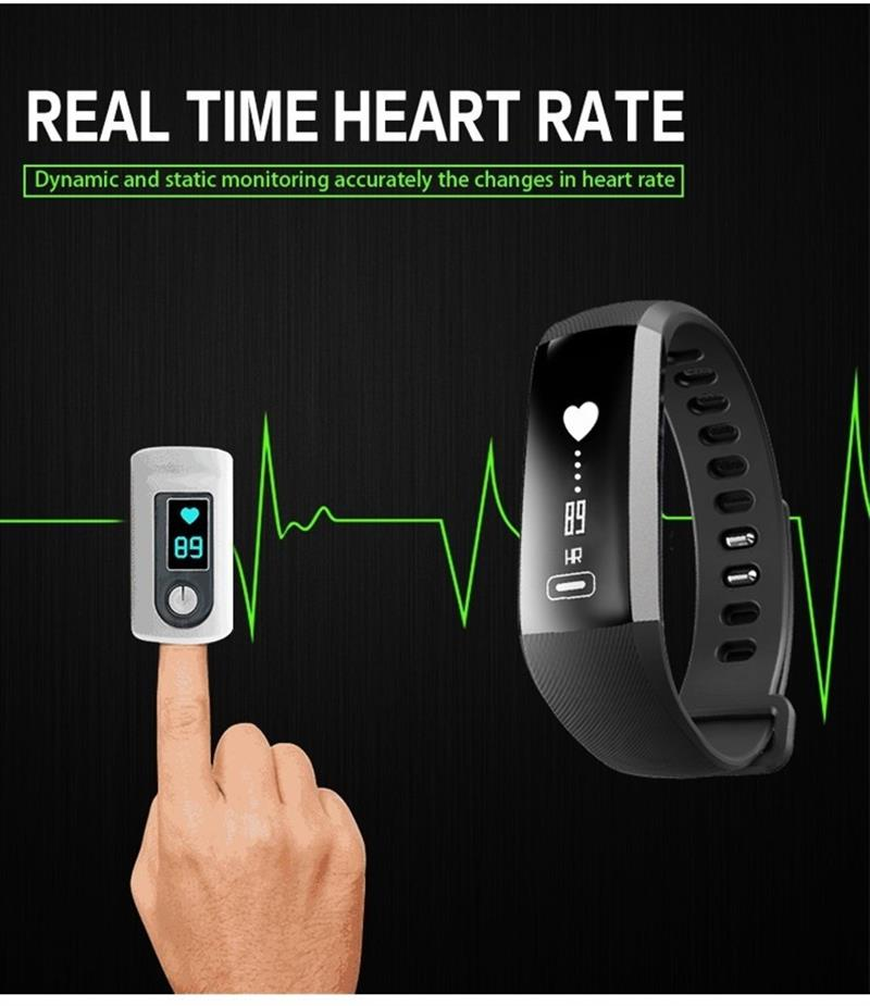 CURREN M2 R5 Pro Smart WristBand Fitness Tracker Bracelet Heart Rate Blood Pressure Watch Pulse Meter Oxygen SMS Call Sport band