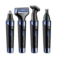 4 in 1 Men Electric Ear Nose Removal Trimmer Razor USB Charg