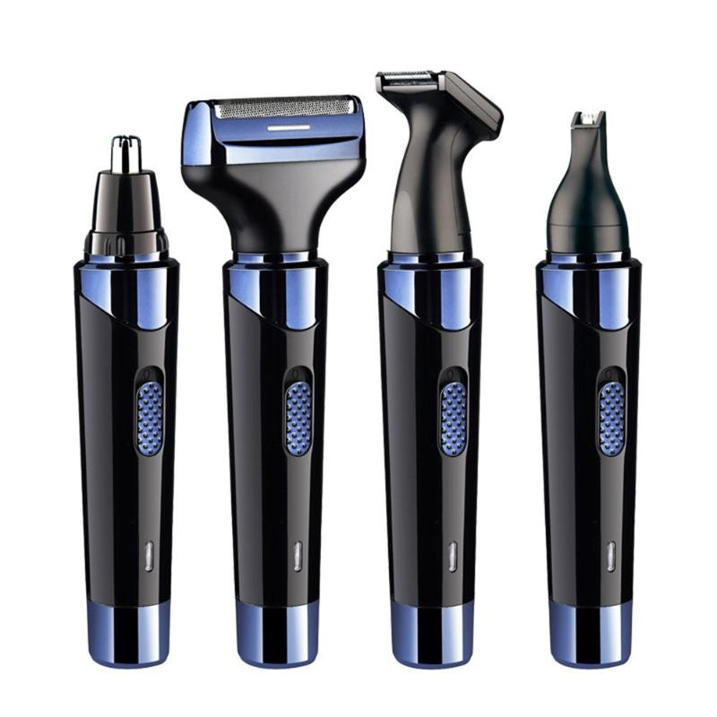 4 in 1 Men Electric Ear Nose Removal Trimmer Razor USB Charging Face Care Eyebrow Shaving Clipper Hair Trimer For Men4 in 1 Men Electric Ear Nose Removal Trimmer Razor USB Charging Face Care Eyebrow Shaving Clipper Hair Trimer For Men