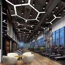 Modern Novelty LED Pendant Light Herringbone Hotel Hall Modern Pendant Lamp Iron Office Decor Reading Room Living Room Fixtures