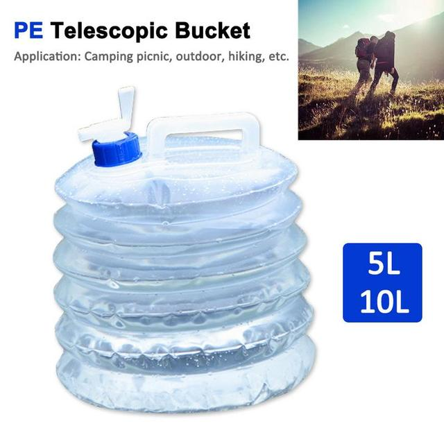 1pc 5L/10L Outdoor Camping Water Bag 4