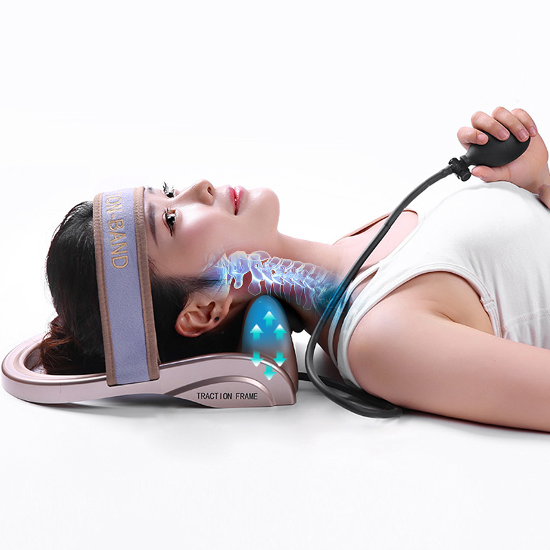 Neck Traction Cervical Physiotherapy Device Cervical Tractor Relax Neck Cervical Muscles Relieve Neck Shoulder Pain Tools