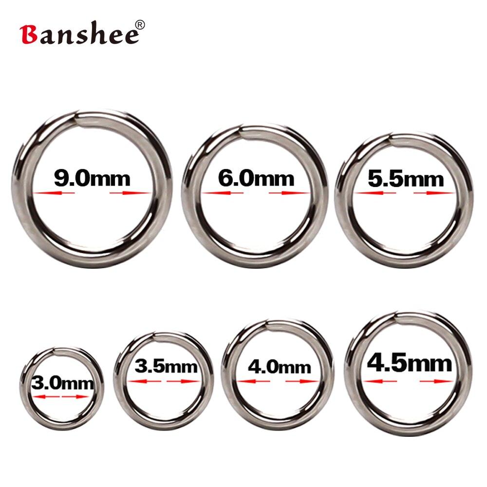 60/100 pçs anéis de pesca aço inoxidável dividir anéis de alta qualidade fortalecer anel sólido isca anel de conexão acessórios de pesca
