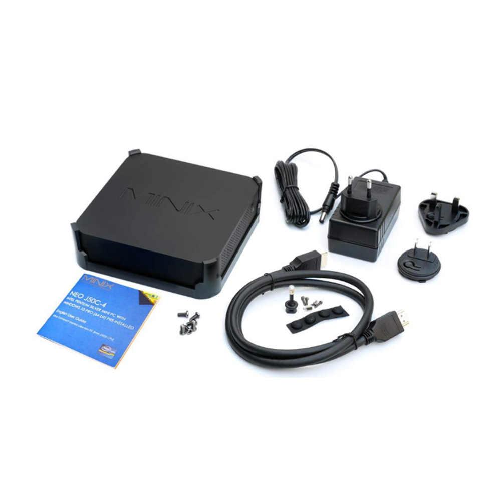 Minix NEO J50C جهاز كمبيوتر صغير إنتل الجوزاء بحيرة بنتيوم J5005 إنتل الرسومات 2.4G 5G WiFi 1000 150mbps USB3.0 بلوتوث 4.1 ويندوز 10 برو