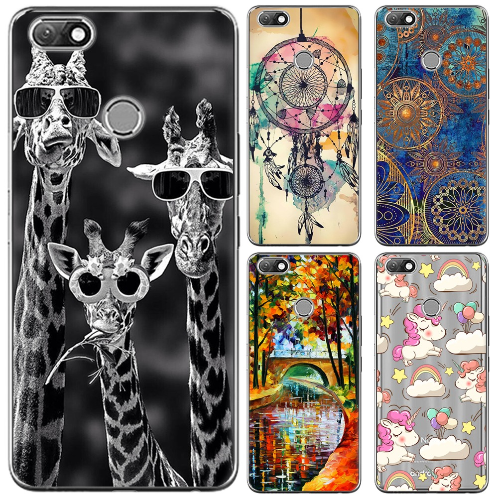 Soft Phone Case Silicone Cover For Infinix Note 5 X604 6