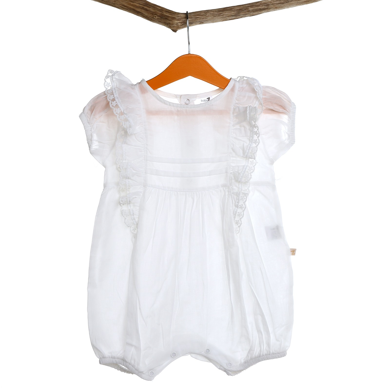 BabyZ Baby Detailed Short Romper