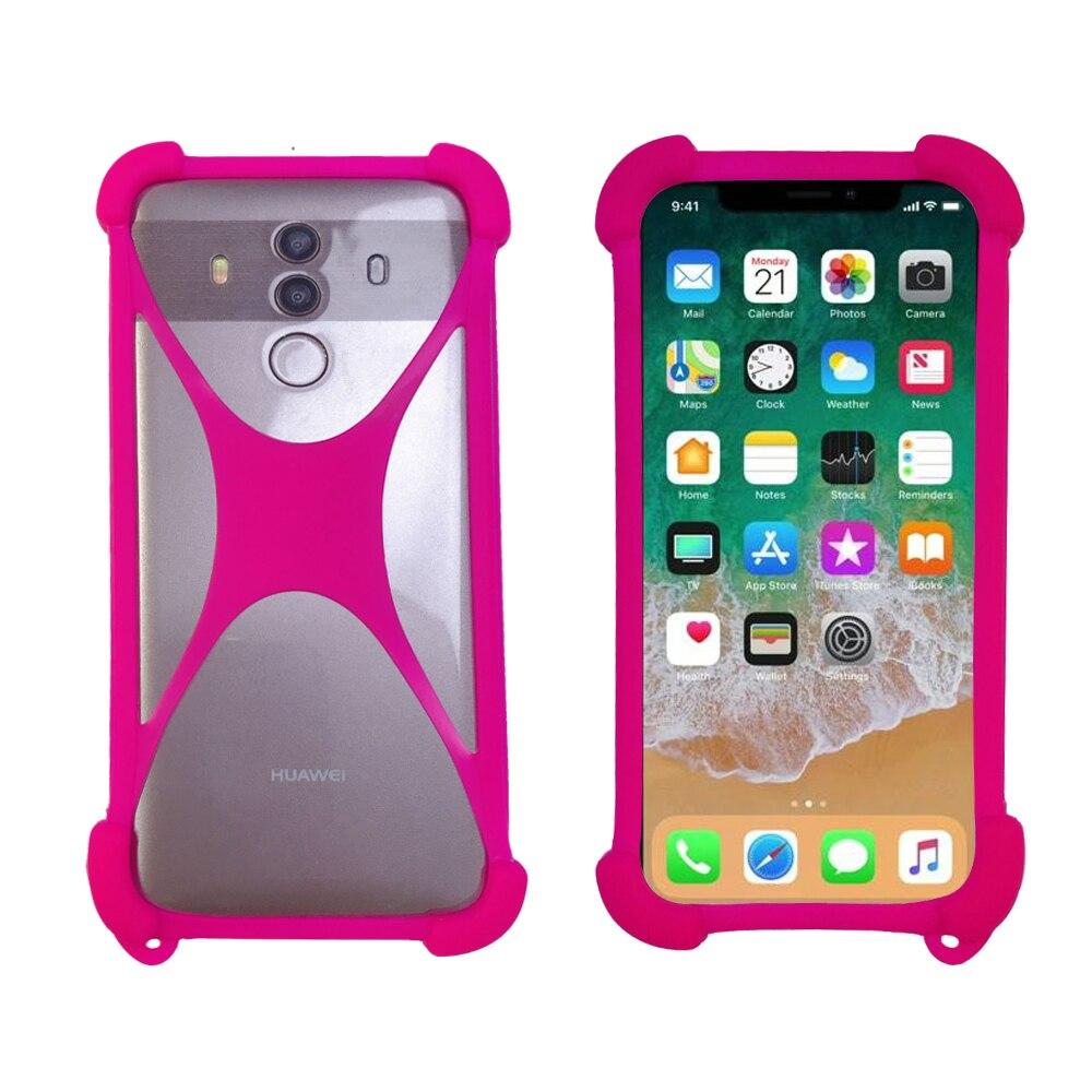 Bereidwillig Yu Yureka 2 5.5 Inch Case Universal Siliconen Tpu Rubber Bumper Mobiele Telefoon Geval Voor Yu Yutopia Funda Waterdicht, Schokbestendig En Antimagnetisch