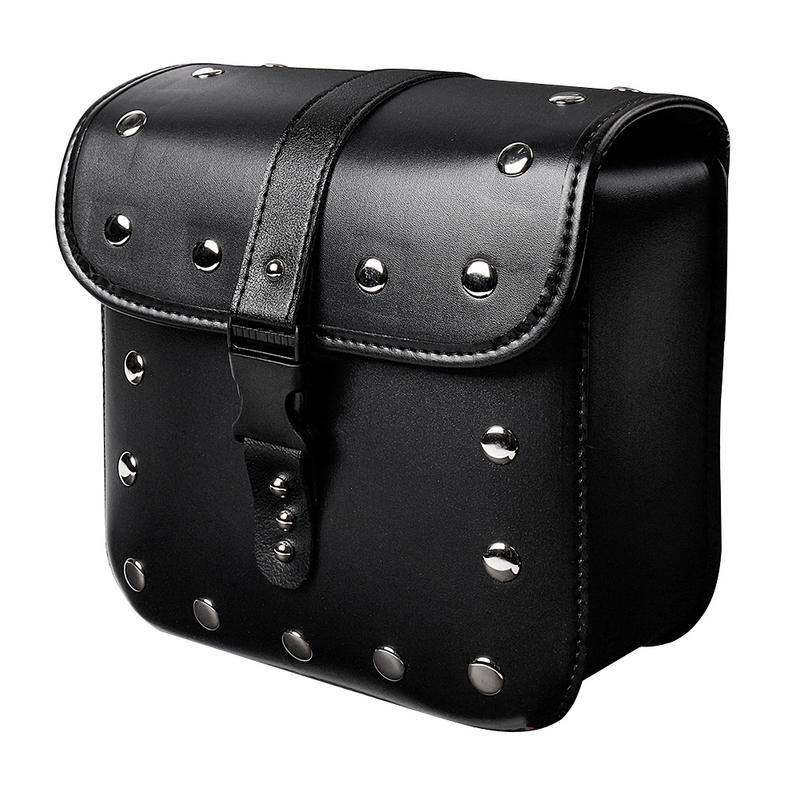 1Pair Motorcycle Cruiser Hard Trunk Saddle Bag Box Side Luggage Hard Trunk Saddle Bags Side Box